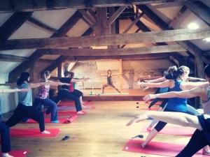 A Photo of a Yoga Workshop