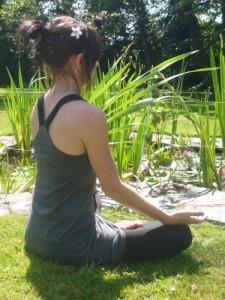 Yoga in the garden 3